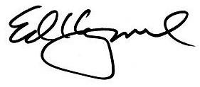 Ed signature