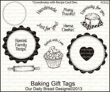 Stamps - Our Daily Bread Designs Baking Gift Tags