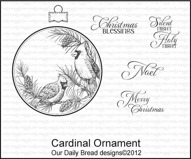 ODBD Cardinal Ornament