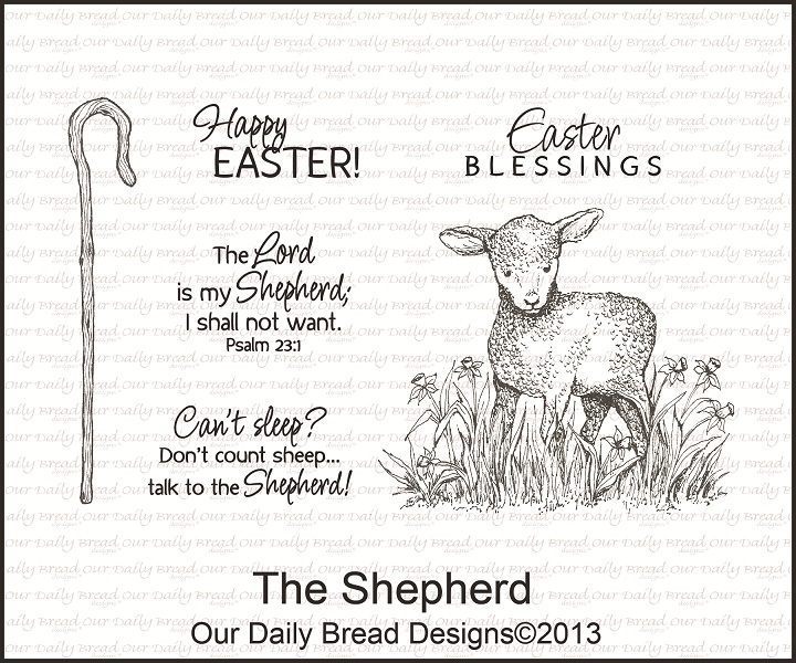 Stamps - Our Daily Bread Designs The Shepherd