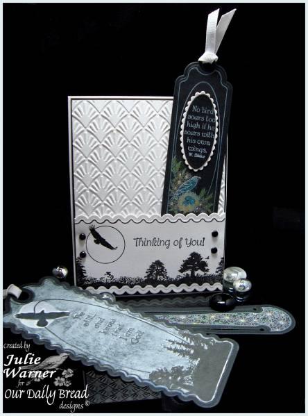 Our Daily Bread designs Bookmarks - Eagle Designer Julie Warner