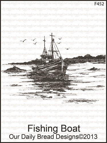 Stamps - Our Daily Bread Designs Fishing Boat Single