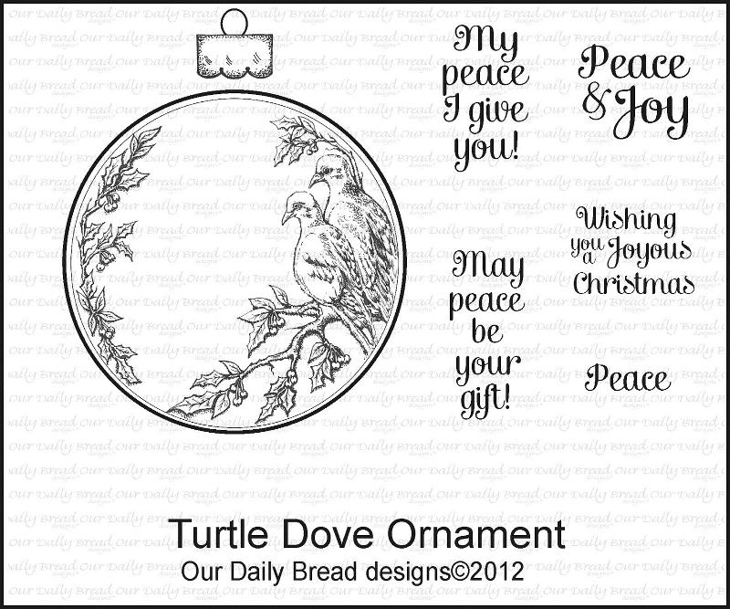 ODBD Turtle Dove Ornament