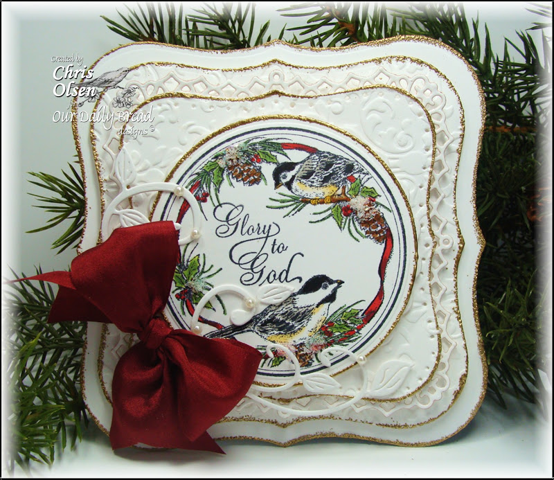 ODBD Chickadee Ornament Chris