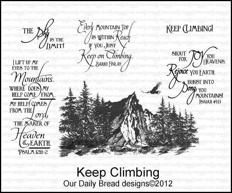 "Our Daily Bread designs ""Keep Climbing"""