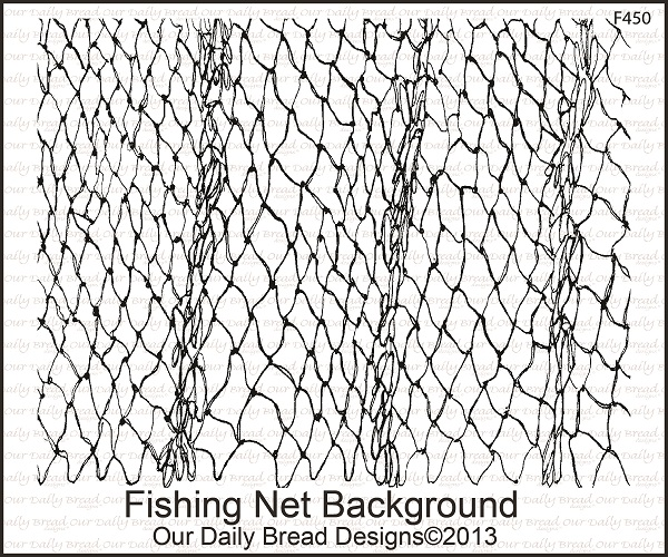 Stamps - Our Daily Bread Designs Fishing Net Background