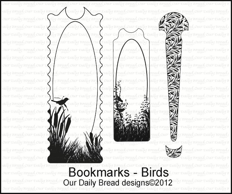 "Our Daily Bread designs ""Bookmarks-Birds"""