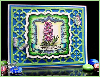 Stamps - Our Daily Bread Designs Hyacinth, ODBD Quatrefoil Pattern Die