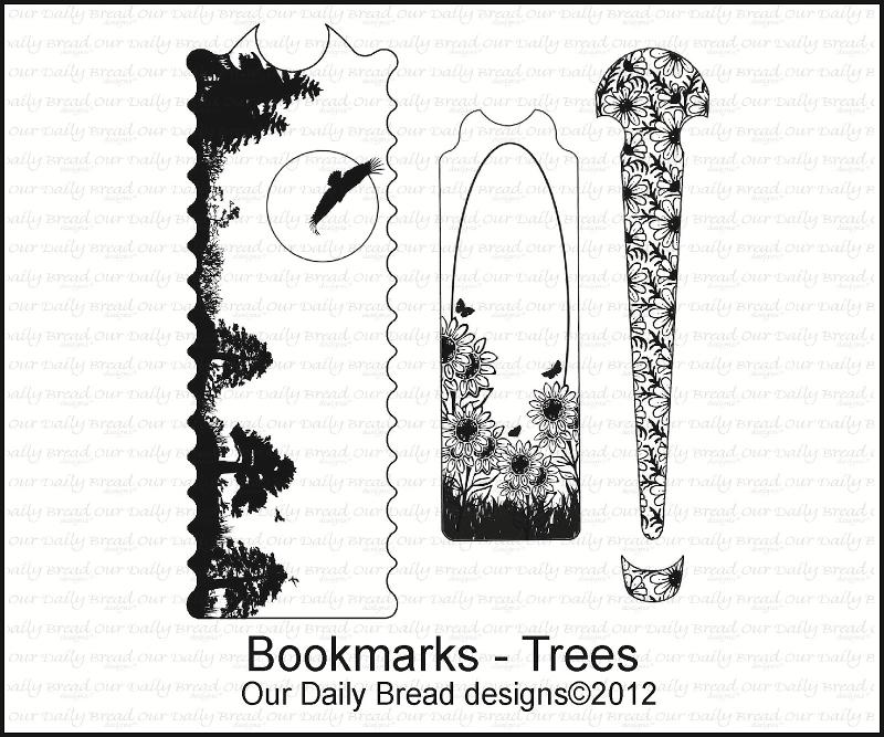 "Our Daily Bread designs ""Bookmarks-Trees"""