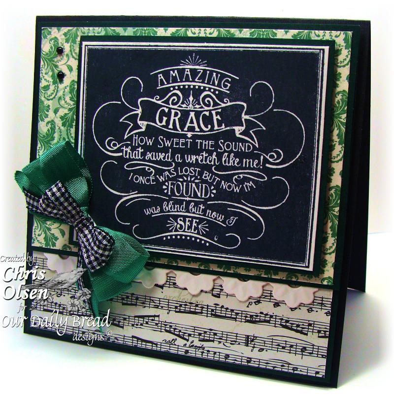 Stamps - Our Daily Bread Designs Chalkboard  - Amazing Grace