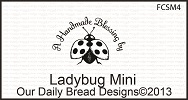 Stamps - Our Daily Bread Designs Ladybug Mini