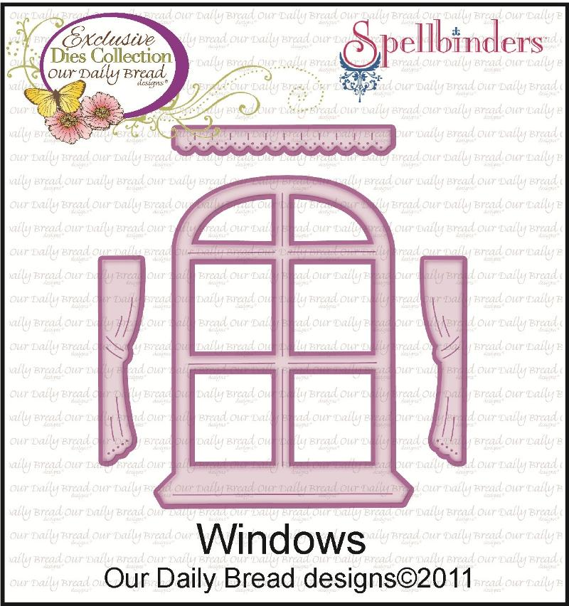 "ODBD Exclusive Spellbinders ""Windows"" Die Set"