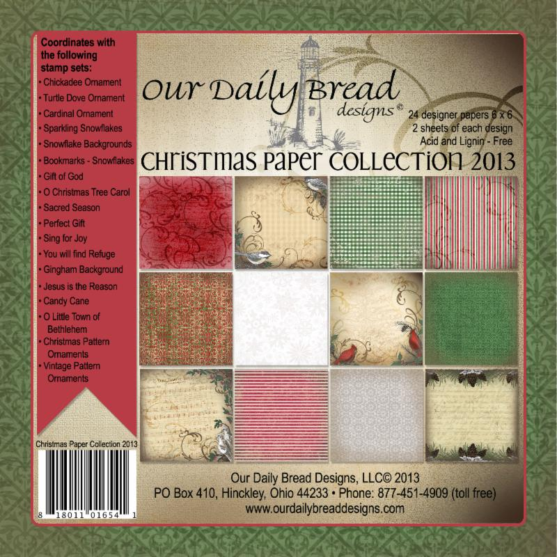 Our Daily Bread Designs Christmas Paper Collection 2013