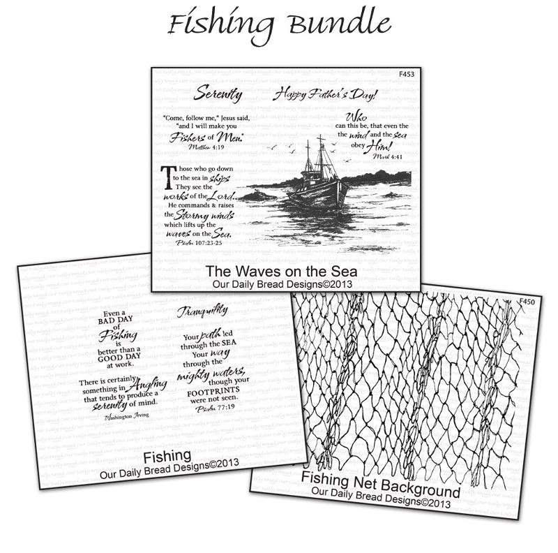 Our Daily Bread Designs Fishing Bundle