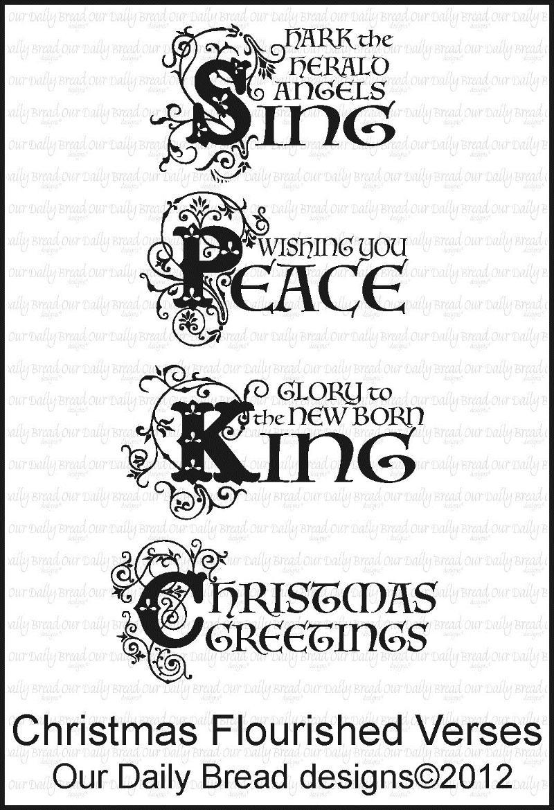 ODBD Christmas Flourished Verses