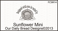 Stamps - Our Daily Bread Designs Sunflower Mini