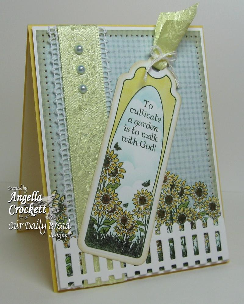 "Bookmark Sneak PeekOur Daily Bread designs ""Bookmarks-Trees"" Designer Angie Crockett"