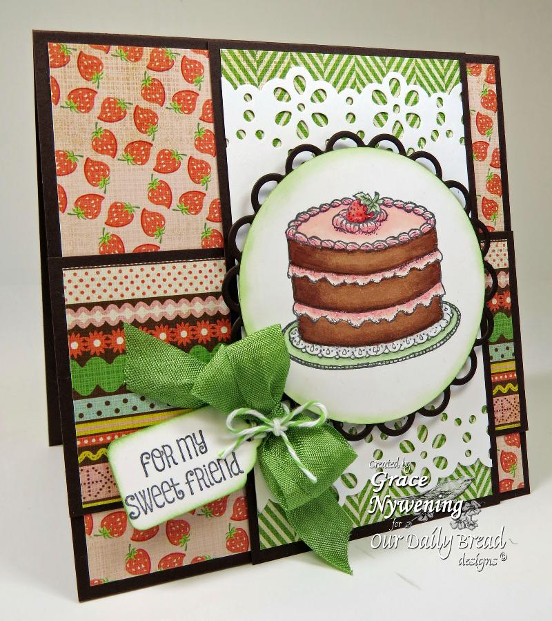 Stamps - Our Daily Bread Designs Cake