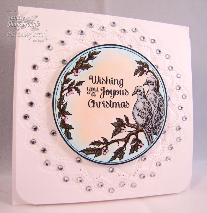 ODBD Turtle Dove Ornament Sandee