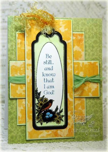 Our Daily Bread designs Bookmarks - Eagle Designer Dawn Lusk