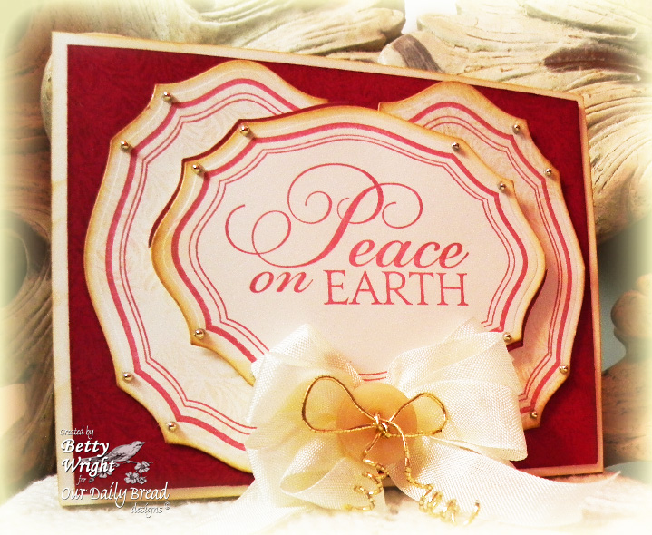 Elegant Ovals Holly Tag Set Designer Betty Wright
