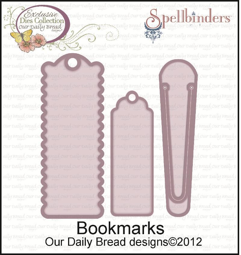 """Bookmark DiesSpellbinders/ODBD Exclusive """"Bookmarks"""" Cutting Dies"""
