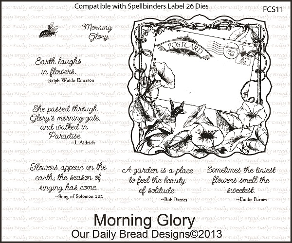 Our Daily Bread Designs April 2013 Release Morning Glory