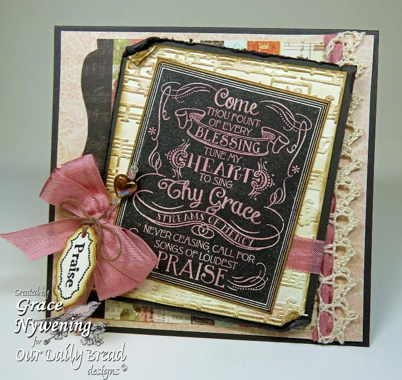 Stamps - Our Daily Bread Designs Chalkboard  - Hymns, Antique Labels Designs, Words of Faith, ODBD Antique Labels and Border Dies