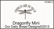 Stamps - Our Daily Bread Designs Dragonfly Mini