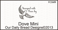 Stamps - Our Daily Bread Designs Dove Mini
