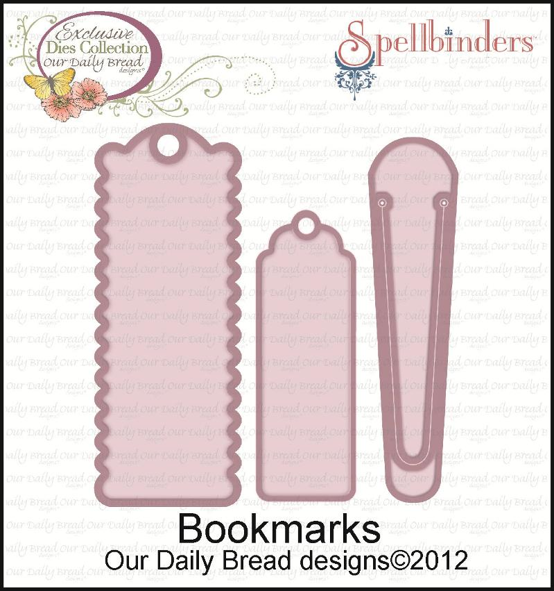"Our Daily Bread designs/Spellbinders ""Bookmarks"" dies"