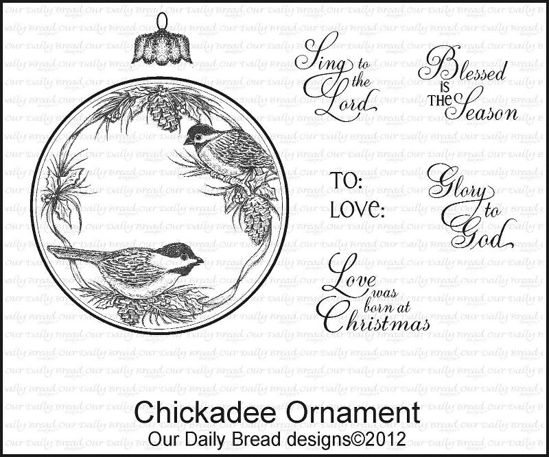 ODBD Chickadee Ornament