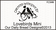 Stamps - Our Daily Bread Designs Lovebirds Mini