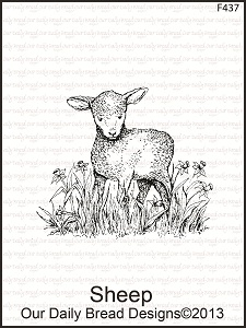 Stamps - Our Daily Bread Designs Sheep Single