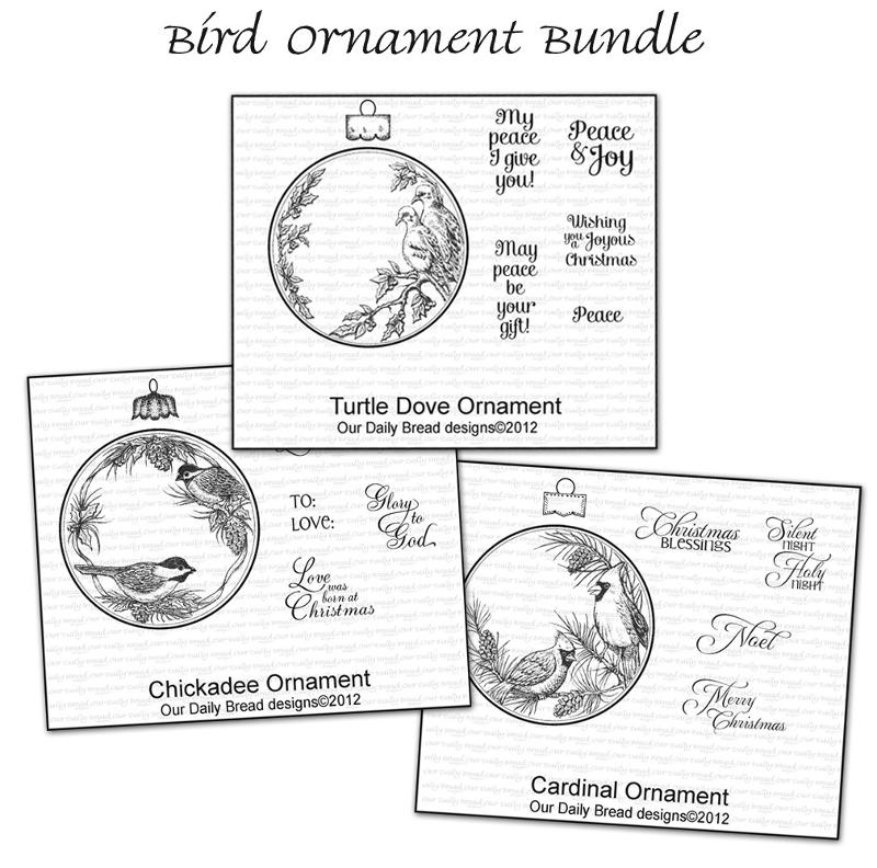 ODBD Bird Ornament Bundle