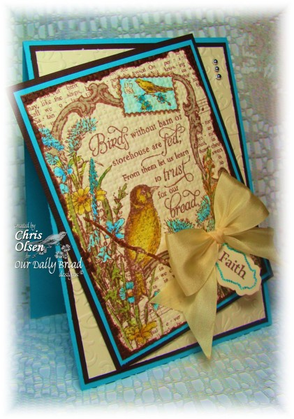 Our Daily Bread Designs April 2013 Release Finch Collage