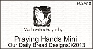 Stamps - Our Daily Bread Designs Praying Hands Mini