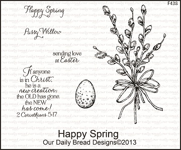 Stamps Our Daily Bread Designs Happy Spring