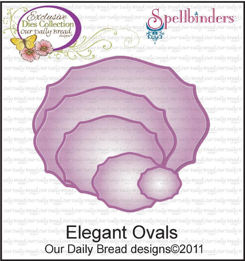 ODBD Exclusive Spellbinders Elegant Ovals Die Set