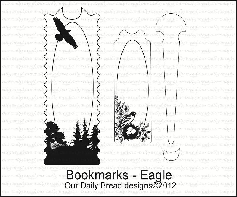 "Our Daily Bread designs ""Bookmarks-Eagle"""