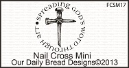 Stamps - Our Daily Bread Designs Nail Cross Mini