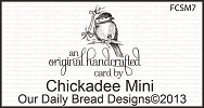 Stamps - Our Daily Bread Designs Chickadee Mini
