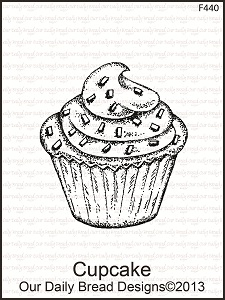 Stamps - Our Daily Bread Designs Cupcake
