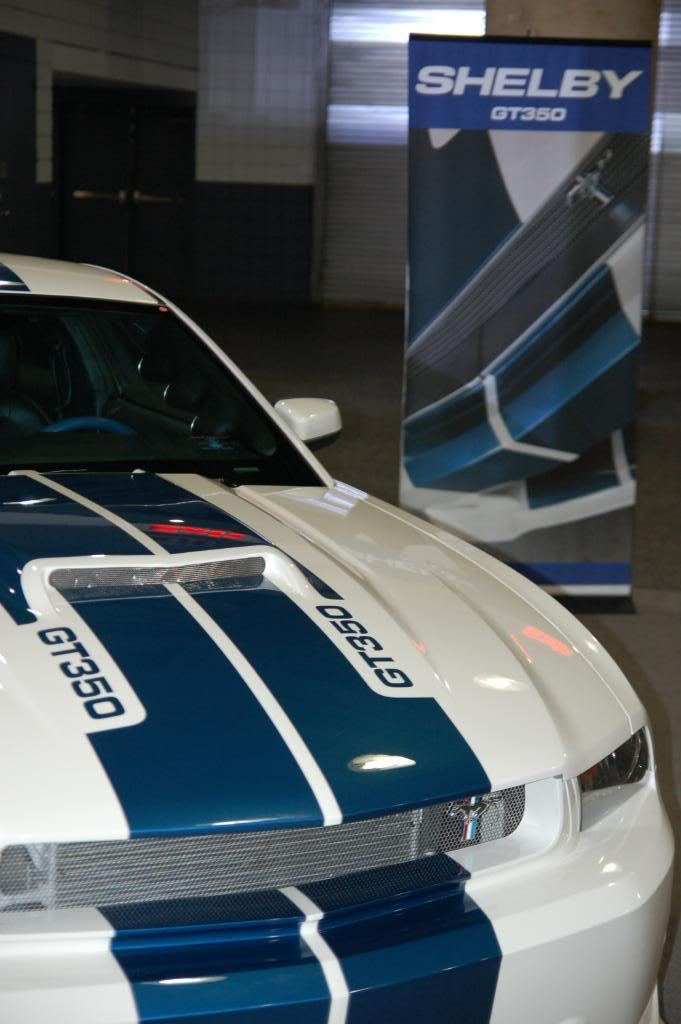 White GT 350 NY