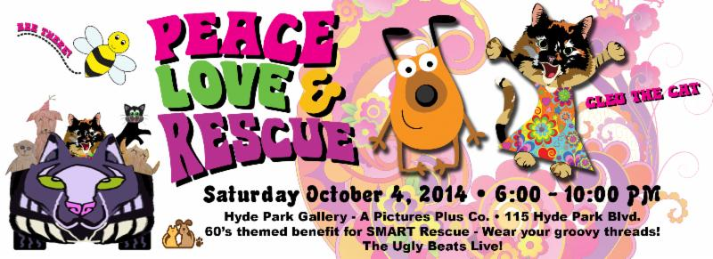 Peace Love & Rescue - Cleo's benefit for SMART Rescue