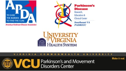 2013 PD Community Day host logos - APDA, PADRECC, UVA, VCU