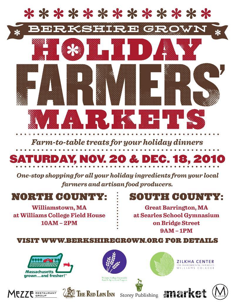 Holiday Market 2010