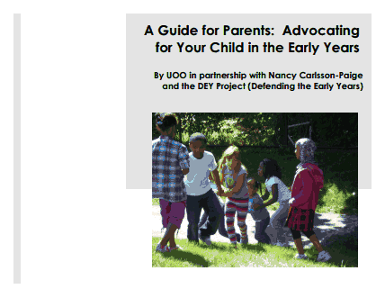 A Guide for Parents: Advocating for Your Child in the Early Years