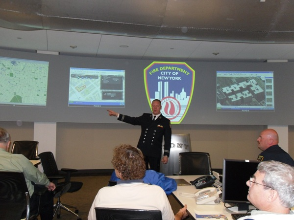 Northeast Fire/EMS User Group Meeting in the FDNY Command Center