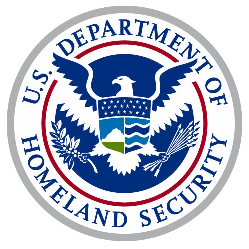 color logo of the US Department of Homeland Security
